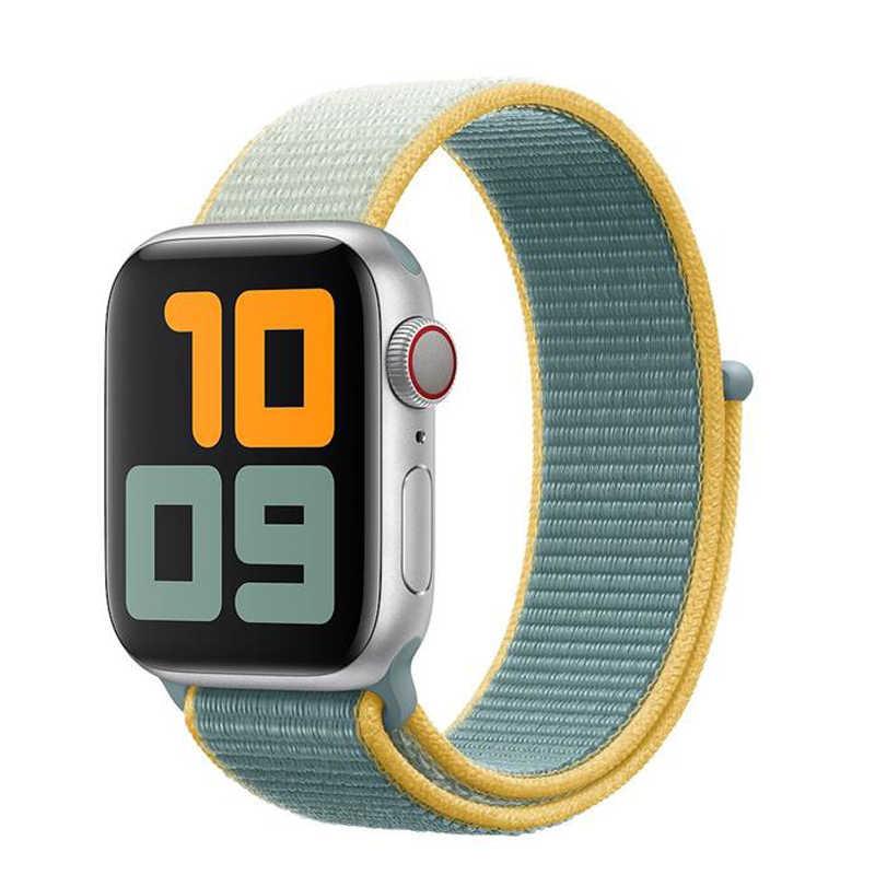 ストラップため apple watch 5 バンド 44 ミリメートル 40 ミリメートルナイロン快適な時計バンドコレア pulseira applewatch 5 4 3 2 1 iwatch バンド 42 ミリメートル 38 ミリメートル 44