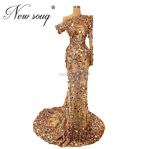 Image 3 - ใหม่ดูไบผู้หญิงที่มีชื่อเสียงชุดชุดราตรี Elegant ดูผ่านแอฟริกันอิสลาม PROM Dresses ชุดราตรี 2020 Robe De Soiree