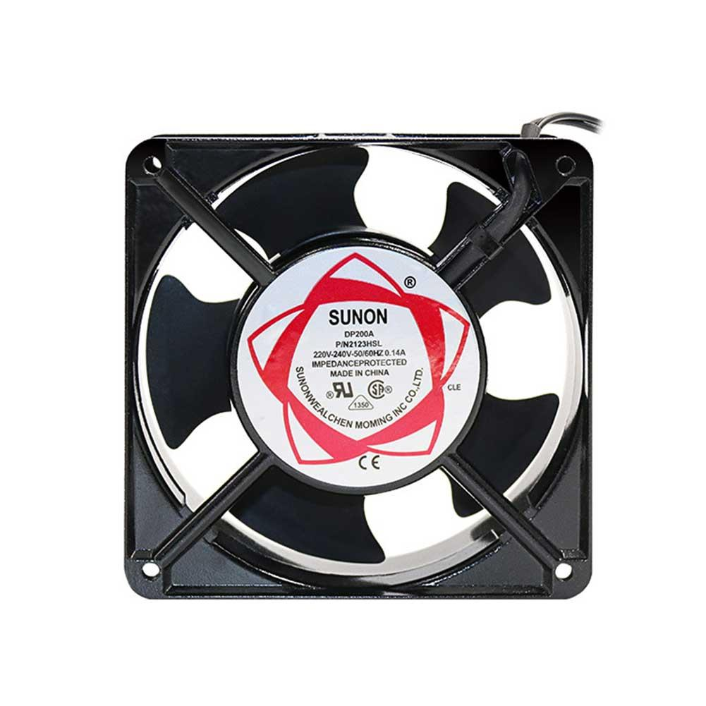Fan Low Noise Axial Fan 220V 120*120*38MM Cooling Fan For Ozone Generator Accessories Solder Exhaust Fan Ventilator Fan