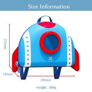 Image 5 - NOHOO maluch plecak dla dzieci 3D Rocket Space Cartoon torby przedszkolne plecaki szkolne dla dzieci przedszkole torby dla dzieci Mochila