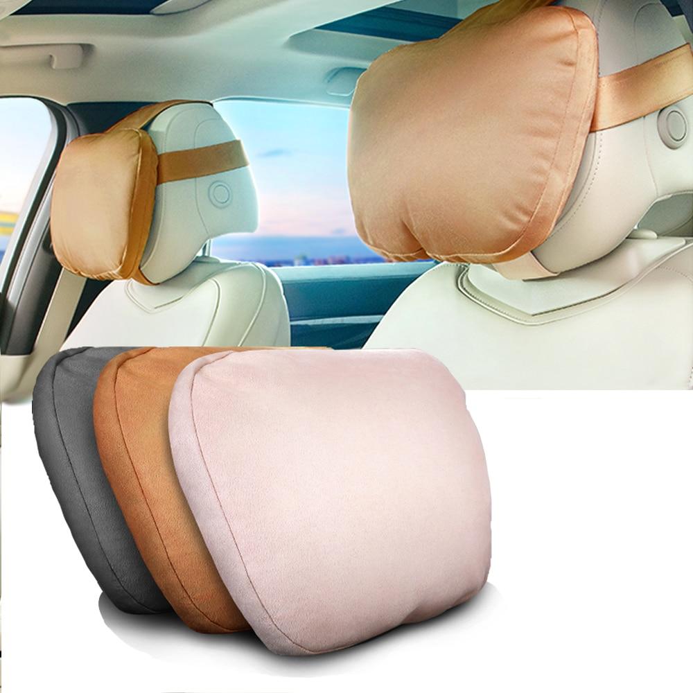 Universal car headrest Cervical pillow car seat car cushion pillow soft pillow for For Mercedes Benz Maybach  S Class