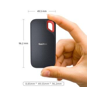 Image 3 - SanDisk Extreme נייד SSD 1TB 500GB 550M חיצוני כונן קשיח SSD USB 3.1 HD SSD כונן קשיח 250GB מצב מוצק דיסק עבור מחשב נייד