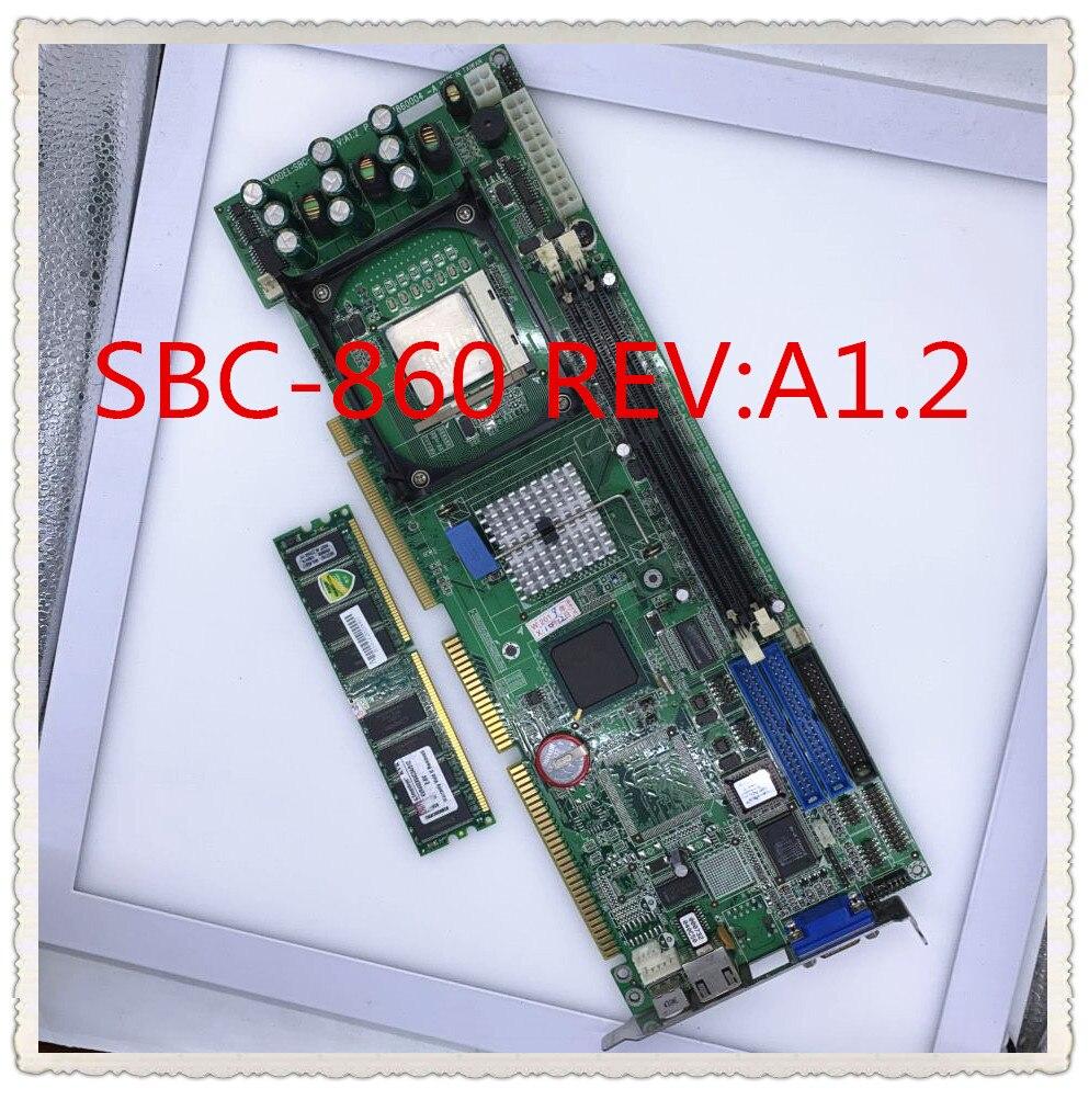 Промышленная материнская плата компьютера SBC 860 REV: A1.2 отправка памяти ЦП