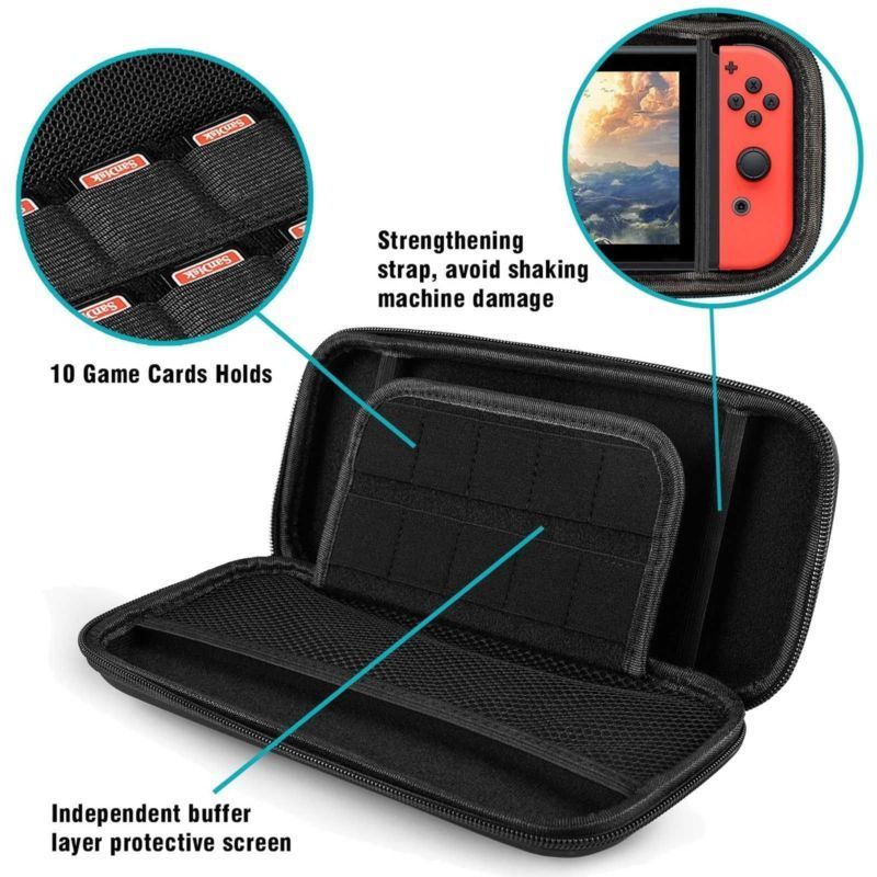 cheapest 5 in 1 game accessory set Cute Portable Pouch Cover For Nintendo Switch case Travel Carrying Bag for nintend switch lite Cases