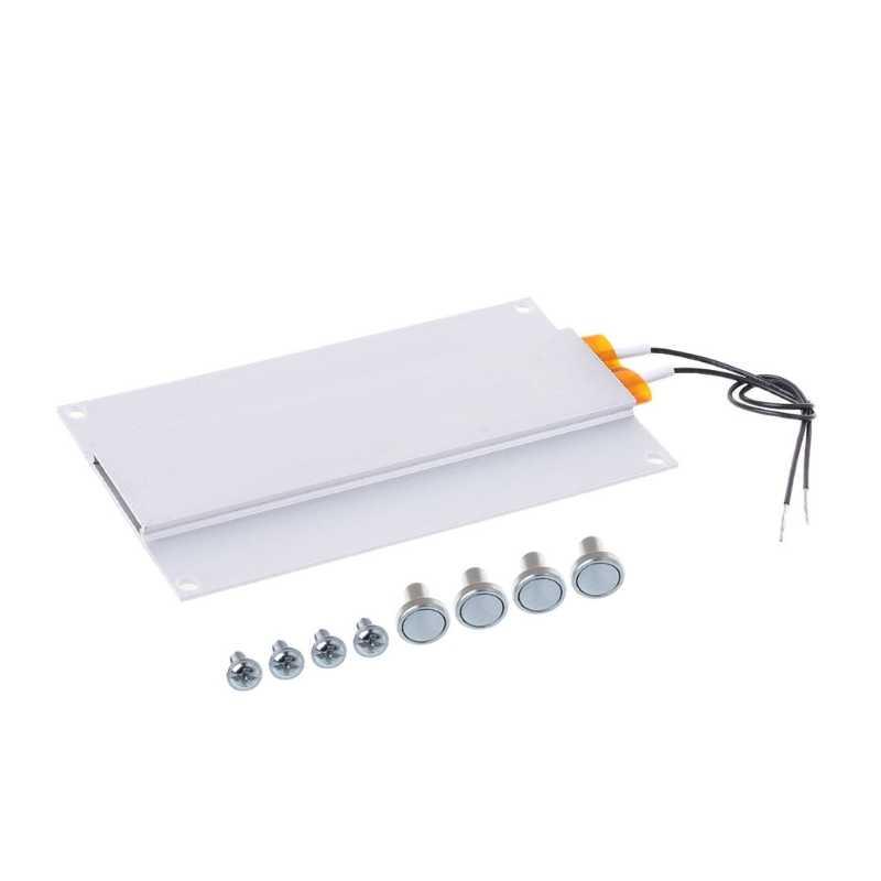 Microcomputadora LED Placa el/éctrica caliente Soldador Estaci/ón de precalentamiento Soldador Placa calefactora electr/ónica digital LCD Estaci/ón de soldadura Enchufe de la UE