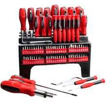 100Pcs Professional Screwdriver Kit Power Tools Set High Precision Screwdrivers with Stand for Phone Screw Driver
