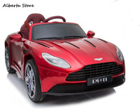 Children's Car Can Sit DB11 Super Car Remote Control Mobile Phone Bluetooth Music Light Boy Girl Ride on Car Kids Electric Cars