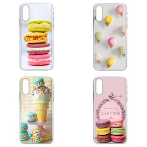 Dessert Ice Cream Laduree Macarons For Xiaomi Redmi mi10 lite Pro Note 9 PRO Max 9s Mi9 K30 K20 Pro 5G Diy Colorful Printing TPU