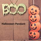10pcs BOO Chain Word...