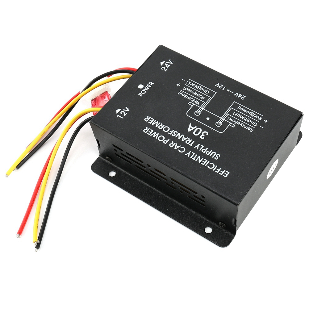24-12V Car Power Supplys Converter Lower Inverter Overload Overheat And Short Circuit Protect Car Electronic Accessories