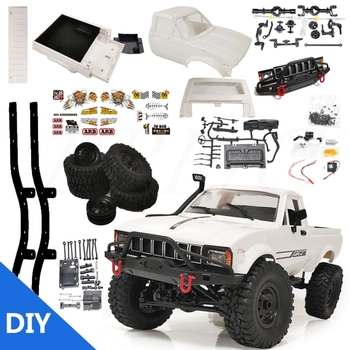 Maßstab 116 C24-1 Pickup 4WD RC Rock Crawler Auto DIY Montage RC Auto Kit B36E