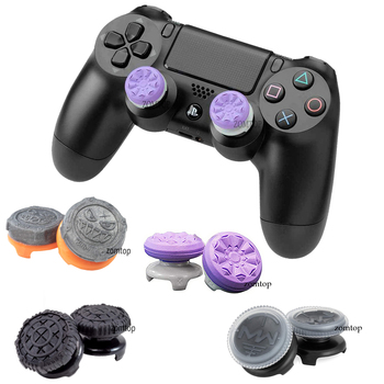 silicone cover skin for dualshock 4 ps4 pro slim controller case and thumb grips caps for play station 4 game accessories ZOMTOP FPS Thumbstick Cover Grav Slam Thumb Grip Stick COD OPS 4 Joystick Caps for PS4 for Dualshock 4 PS4 Pro Slim Controller