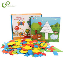 Toy Baby Game Learning-Toys Puzzle Clever-Board Wooden 3d Tangram Early-Educational Children