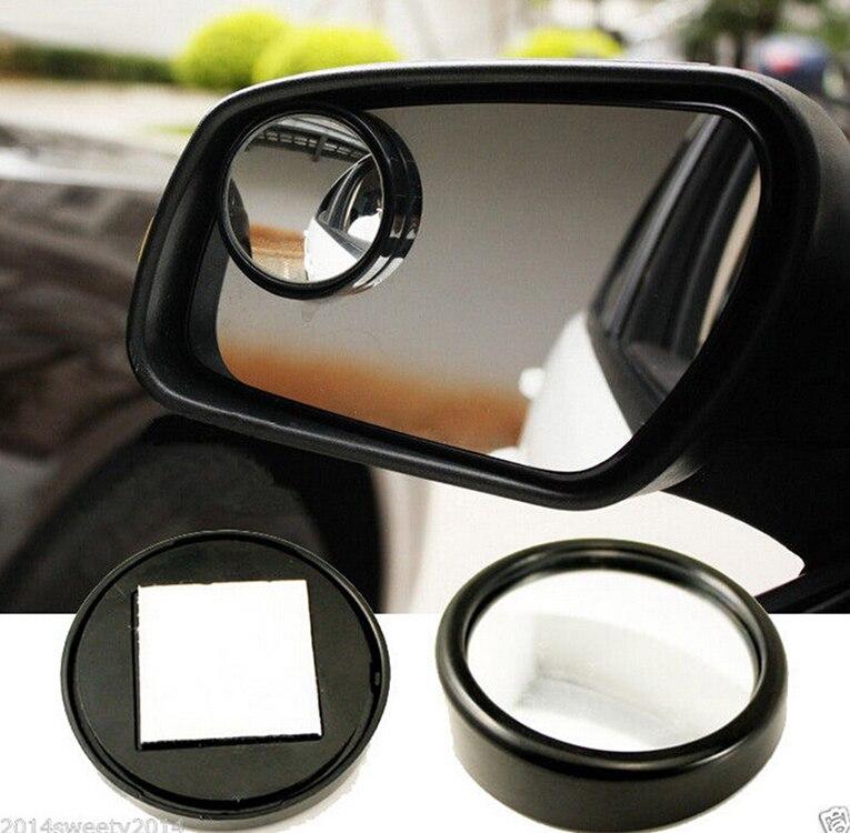 2 sztuk samochód Blind Spot martwe strefy lustro lusterko wsteczne małe okrągłe lustro kąt okrągłe wypukłe lustro Auto Side 360 szeroki