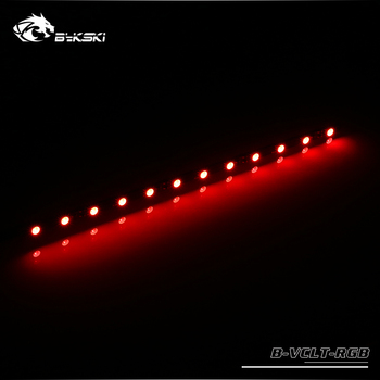 Bykski B-VCLT-RGB RGB Lighting strip for Lighting system ,12V LED 70mm/100mm/150mm/200mm for water cooler light building image