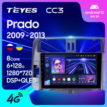 TEYES CC3 For Toyota Land Cruiser Prado 150 2009 - 2013 Car Radio Multimedia Video Player Navigation stereo GPS Android 10