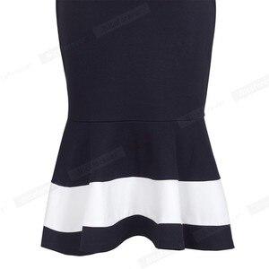 Image 5 - נחמד לנצח בציר טלאים אלגנטיים בת ים vestidos המפלגה עסקי Bodycon נשים שמלת B221