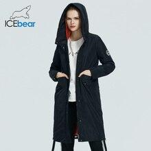 ICEbear 2020 Женщины весна куртка качество женщин пальто длинные женская одежда модная марка одежды GWC20066I