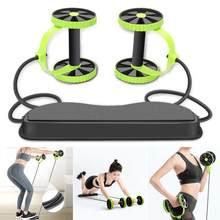 Rodillo de rueda de ABS para hombre y mujer, equipo para ejercicio muscular, entrenador de gimnasio, máquina de entrenamiento en casa, Fitness