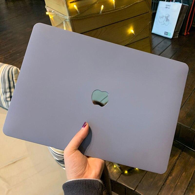 Кремовый Жесткий Чехол для ноутбука Apple MacBook Pro Air 13,3 A1466 A1932 A2179 Retina Pro 13 15 A2289 A2159, чехол с сенсорной панелью для MacBook