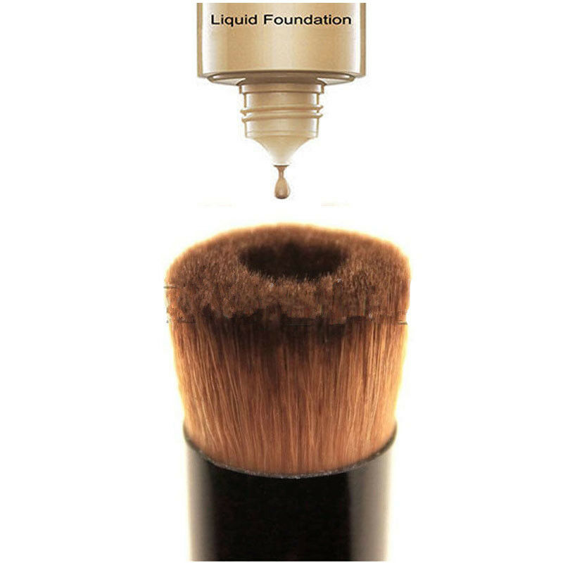 Premium Liquid Foundation Makeup Brush Face Concealer Black Brushes Professional Make Up Tools Accessories Pinceaux Maquillage 3