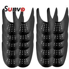 10 par sapatos escudo para tênis esporte sapato cabeça anti vinco protetor maca expansor shaper toe tampas de cuidados apoio atacado