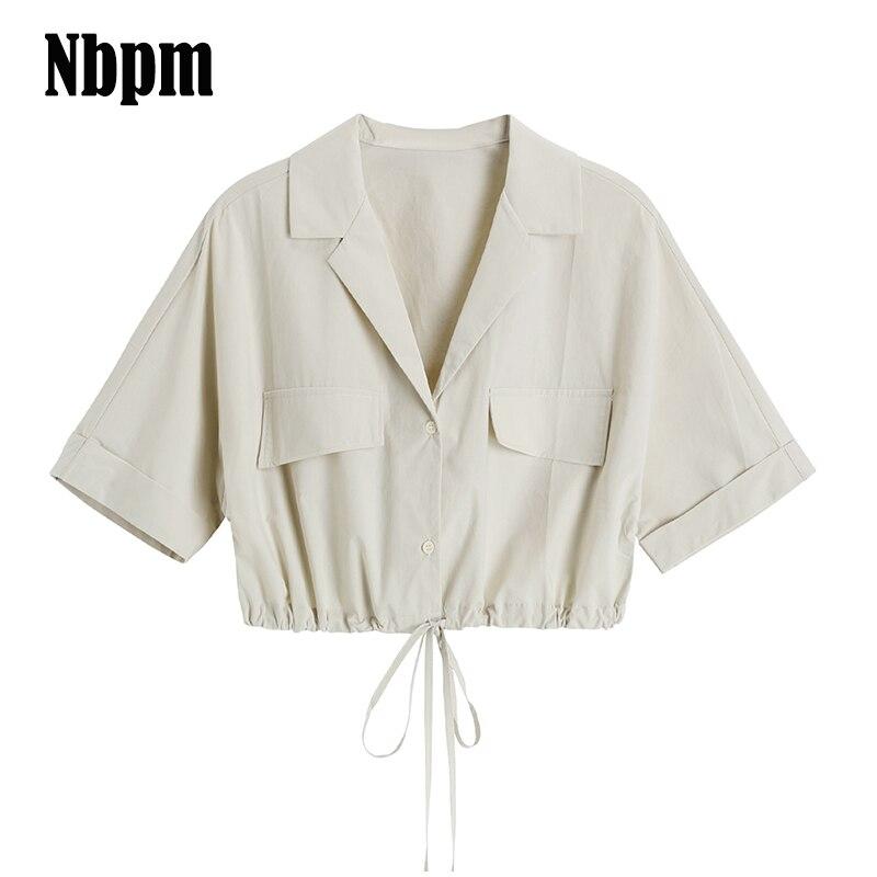 2021 летняя рубашка для женщин модный топ с коротким рукавом и v-образным вырезом туника Топ, повседневный или офисный стиль леди БЕЛЫЕ РУБАШК...