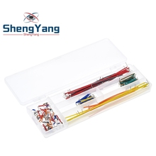 ShengYang Hot Sell 140pcs U Shape Solderless Breadboard Jumper Cable Wire Kit For Arduino Shield For raspberry pi Drop