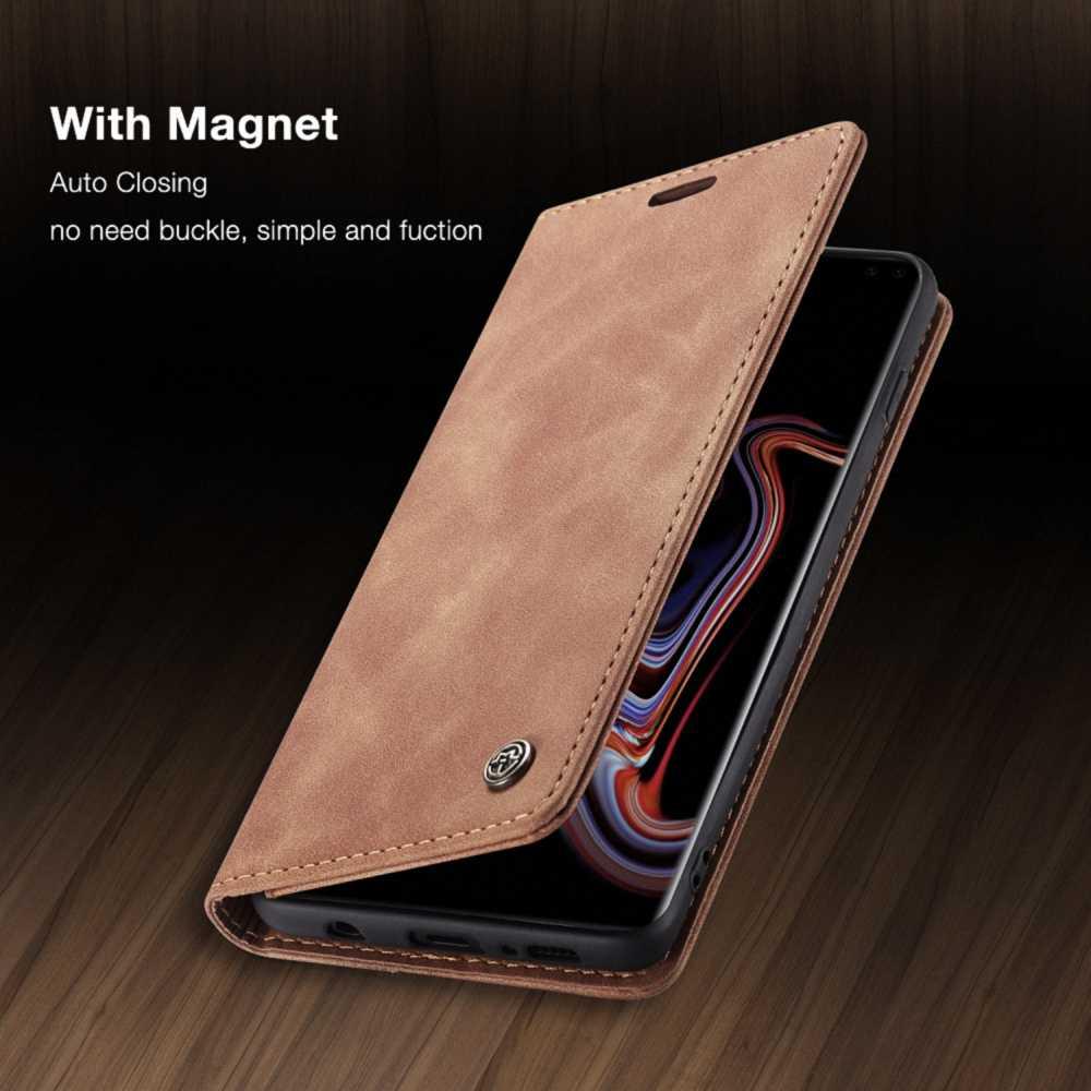 Rétro Sac À Main En Cuir étui pour samsung Galaxy S10 S9 S8 Note 10 Plus A50 A70 Magnétique portefeuille porte-cartes Pour iPhone 11 Pro