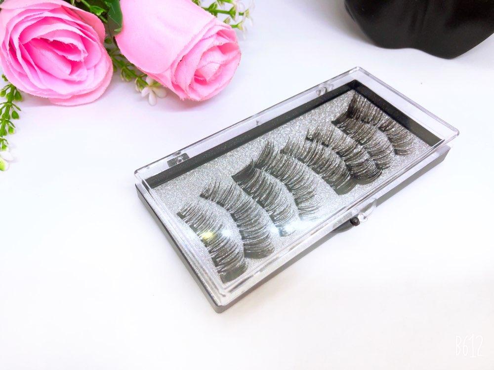 New MBA 5 Magnetic Eyelashes Curler Set Long 3D Mink Magnetic lashes Wear faux cils magnetique Natural Thick False Eyelashes 5