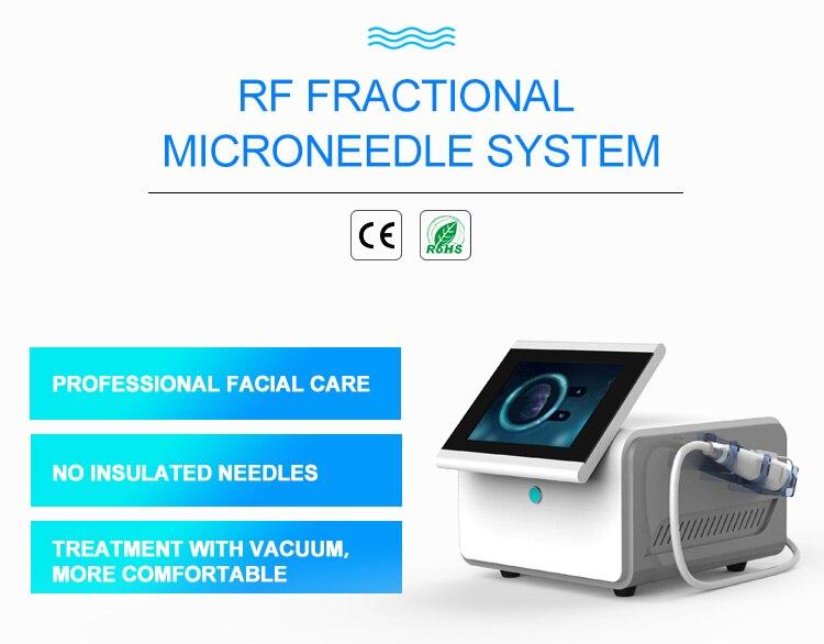 RF Fractional micro-needle beauty machine anti-acne skin lifting anti-wrinkle spa equipment