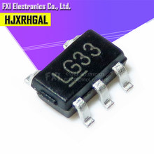 10 pçs/lote MIC5219-3.3BM5 MIC5219-3.3YM5 tela LG33 SOT23-5 Produto original