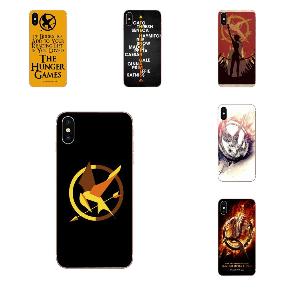 For Xiaomi Redmi Note 2 3 3S 4 4A 4X 5 5A 6 6A Pro Plus Soft Silicone TPU Transparent Bags Cases The Hunger Games image