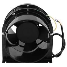 6 pouces 220V ventilateur de conduit d'échappement Mini silencieux en ligne tuyau ventilateur d'air sous-sol atelier mur Ventilation extracteur