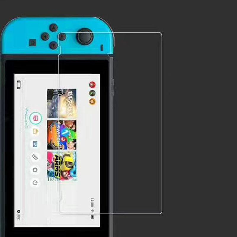 1/2pcs Tempered Glass Protective Film for Nintend Switch HD Dustproof Anti-scratch Screen Protector Gaming Accessories
