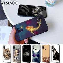 cat kitty cute Silicone Case for Redmi Note 4X 5 Pro 6 5A Prime 7 8