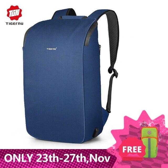 Tigernu 2020 새로운 고품질 방수 여행 배낭 남자 대용량 15.6 인치 노트북 Shockproof 패션 학교 배낭