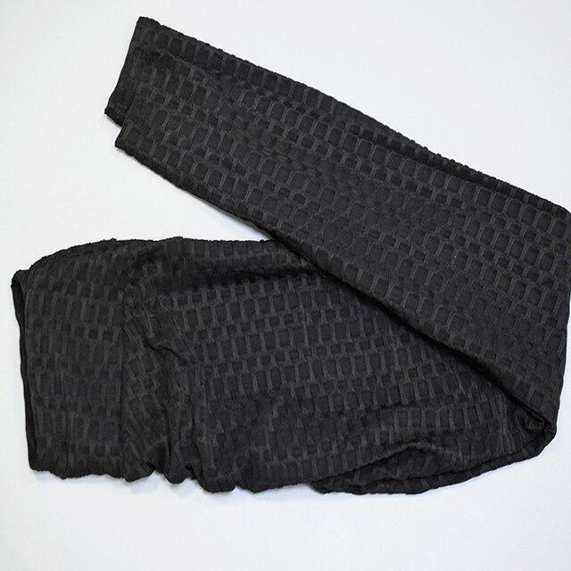 Mallas push up anticelulitis para mujer, leggings de fitness, sexy, de cintura alta, color negro, entrenamiento, talla grande 5