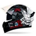 Мотоциклетный шлем  гоночный спортивный автомобиль  индивидуальная крутая крышка  лето  четыре сезона  мотоциклетный двойной зеркальный По...