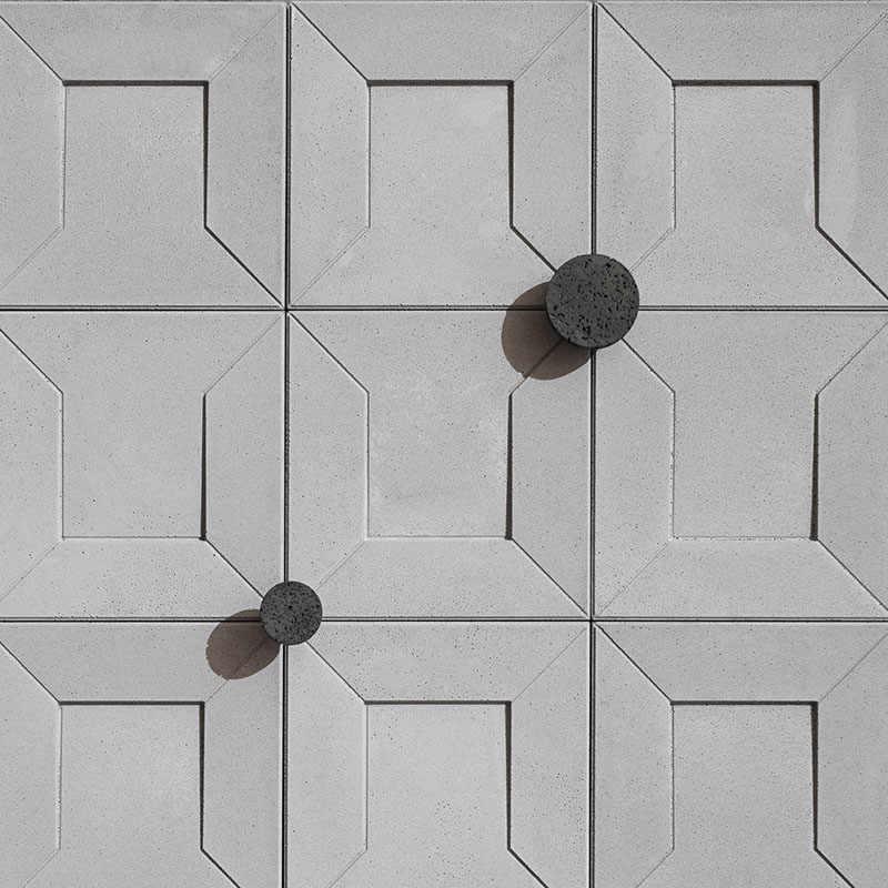 גיאומטרי משושה מרקם בטון קיר לבנים סיליקון עובש creative DIY כיכר מלט טיח רקע קיר עובש