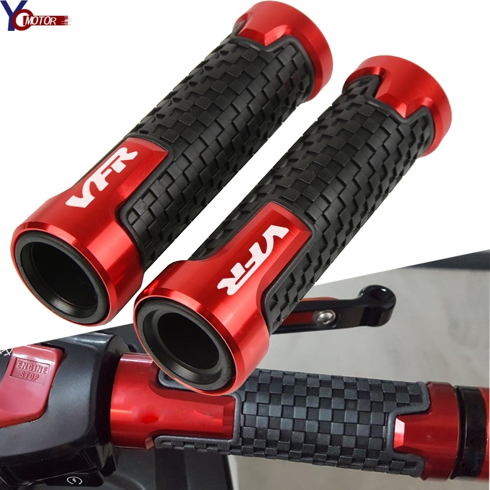 For Honda VFR750 <font><b>VFR</b></font> <font><b>750</b></font> VFR800 <font><b>VFR</b></font> 800 <font><b>VFR</b></font>-800 Motorcycle Handle Bar Grips Handlebar Grip Hand Bars Motorcycle Accessories image