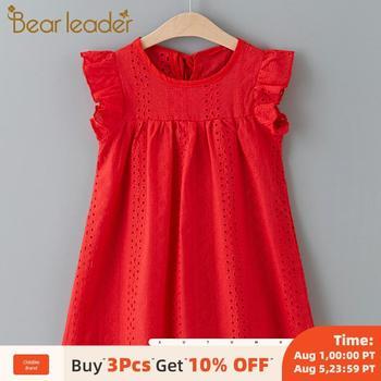 Bear Leader Girls Dress New Summer Brand Girls Dress Casual Kids Princess Dress Hollow Party Dress Children Clothing For 3 7Y цена 2017