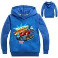 Blaze carro monstro máquina roupas crianças hoodies crianças menino menina topos meninos casaco meninos velocidade em chamas dos desenhos animados camisolas