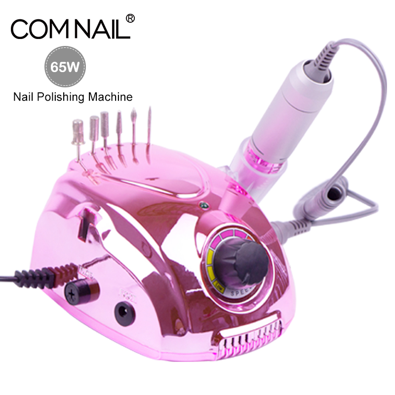 Colorful Electric Nail Drill Nail Manicure Machine Apparatus For Manicure Pedicure Kit Electric File With Cutter Nail Art Tool