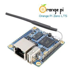 Image 3 - Orange Pi Zero LTS 512MB + حافظة حماية بيضاء ، H2 + رباعية النواة مفتوحة المصدر مجموعة لوحة واحدة صغيرة
