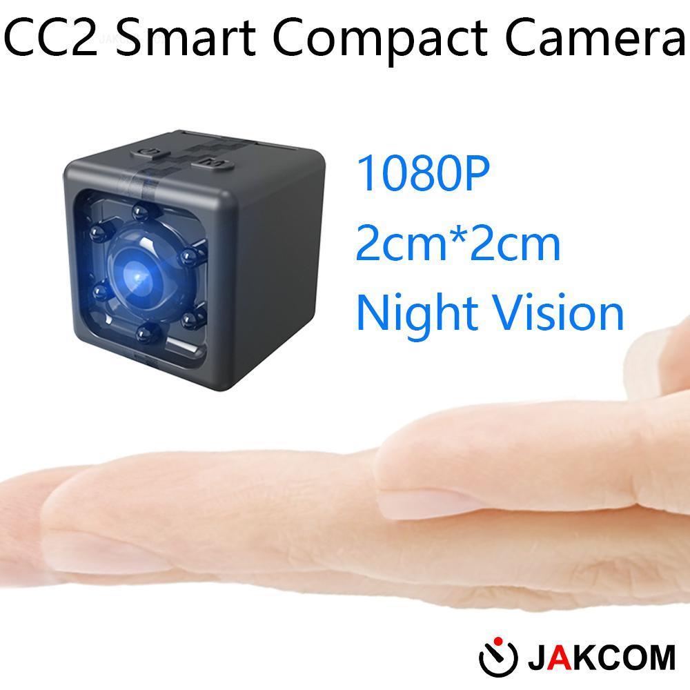 JAKCOM CC2 Smart Compact Camera Hot sale in Mini Camcorders as camera clock fastrack watches sj9000 4k camera