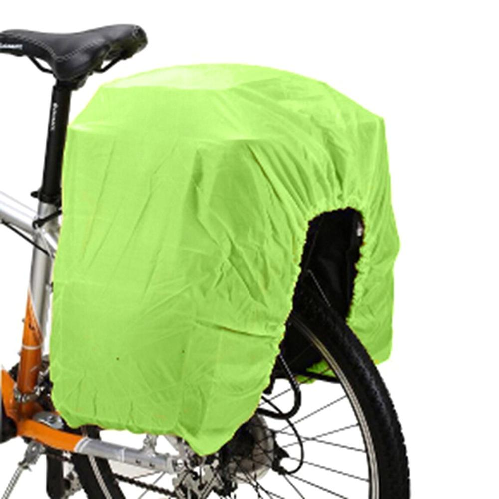 Bicycle Bag Road Bike Rear Seat Rain Cover Luggage Waterproof Bag Rainproof Dust Cover Protective Equipment Foldable