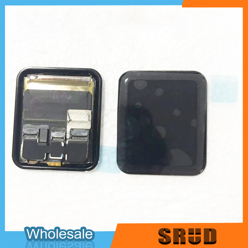 Original LCD Assembly For <font><b>Apple</b></font> <font><b>Watch</b></font> Series 1 2 <font><b>3</b></font> 4 5 38mm <font><b>42mm</b></font> 40m 44mm GPS Cellular LCD <font><b>Touch</b></font> <font><b>Screen</b></font> <font><b>Replacement</b></font> + Free Gift image