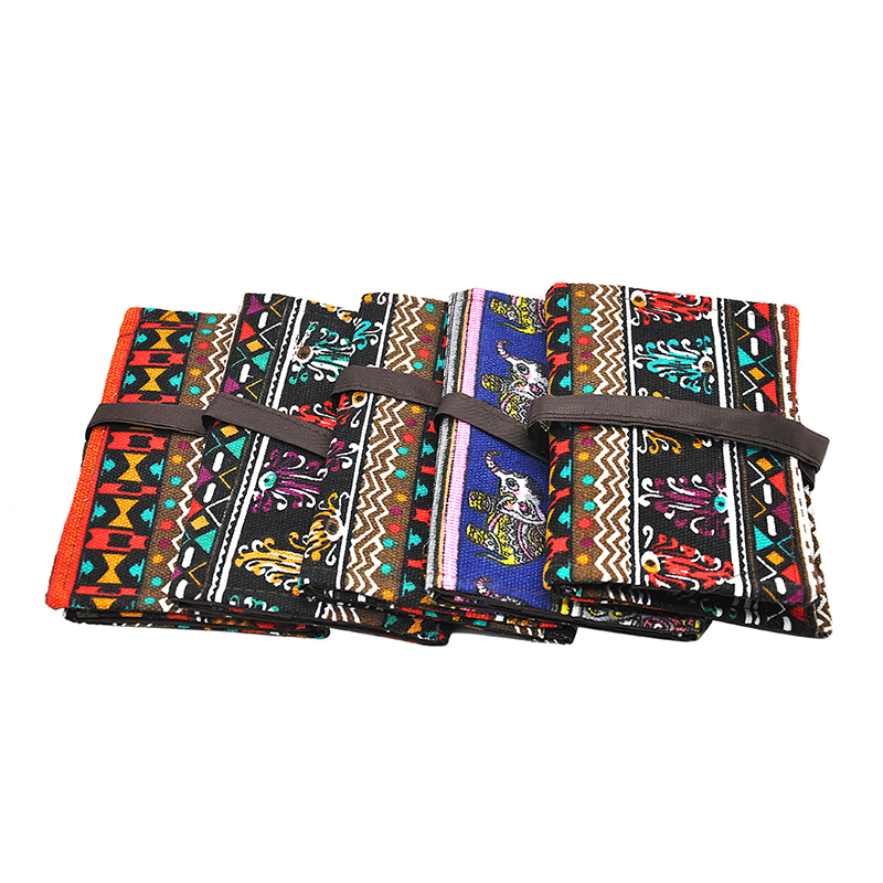 New National StyleTobacco Pouch Storage For Smoking Pipe Cotton Cloth Tobacco Bag 160MM Cigarette Accessories.Pattern Random