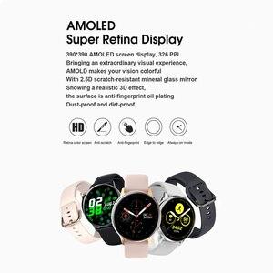 Image 2 - Smartwatch IP68 impermeabile + cinturino/Set Smart Watch ECG pressione sanguigna ossigeno ricarica Wireless per iPhone Samsung Huawei Watch